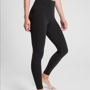 Athleta- high rise elation legging in black